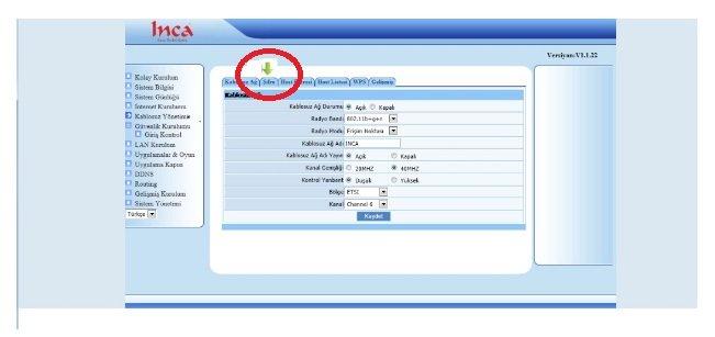 INCA IM-205NX Modem Kurulumu Resimli Anlatım, ınca ım-205nx arayüz şifresi, ınca ım-205nx kablosuz ağ ayarı, ınca ım-205nx kablosuz modem kurulumu, ınca ım-205nx modem ayarı