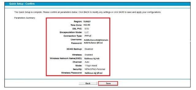 TP Link TD VG3511 Modem Kurulumu Resimli Anlatım, TP Link TD VG3511 Kablosuz Modem Kurulumu, TP Link TD VG3511 Modem Ayarı, TP Link TD VG3511Kablosuz Ayarı