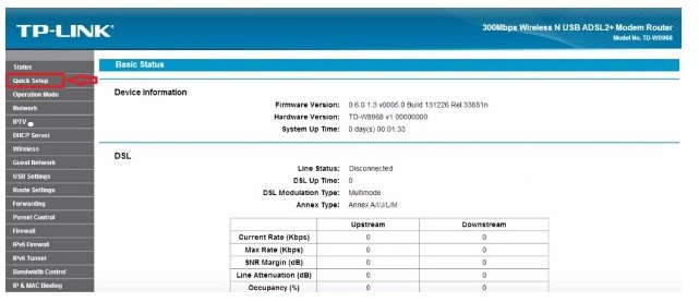 TP Link TD W8968 Modem Kurulumu Resimli Anlatım , TP Link TD W8968 Modem Ayarı, TP Link TD W8968 Wireless, TP Link TD W8968 Kablosuz Ağ ayarı