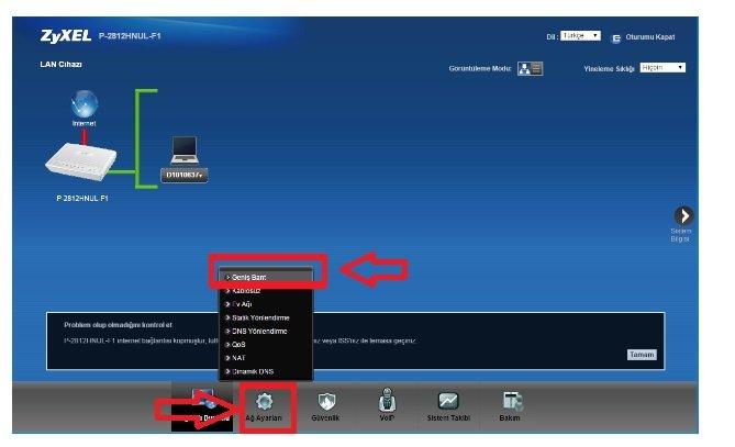 ZYXEL P2812 Modem Kurulumu Resimli Anlatım, Zyxel P2812 Modem Kurulumu, ZYXEL P2812 Modem Ayarı, ZYXEL P2812 Kopma Sorunu, ZYXEL P2812 Arayüz ZYXEL P2812 Şifresi,ZYXEL P2812 Kablosuz Modem Kurulumu Nasıl yapılır?