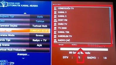 arçelik frekans ayarı, arçelik kanal ayarı, arçelik turksat ayarı, Arçelik Tv Turksat 4A Uydu Kanal Ayarı, arçelik uydu ayarı, arçelik uydu kurulumu