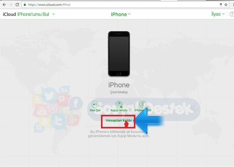 iphone'umu bul bilgisayardan nasıl kapatılır, iphone'umu bul özelliği nasıl kapatılır?, Iphonenumu Bul Özelliğini Kapatma Resimli Anlatım, iphone'umu bul telefon kapalıyken çalışırmı, iphone'umu bul u kapatamıyorum