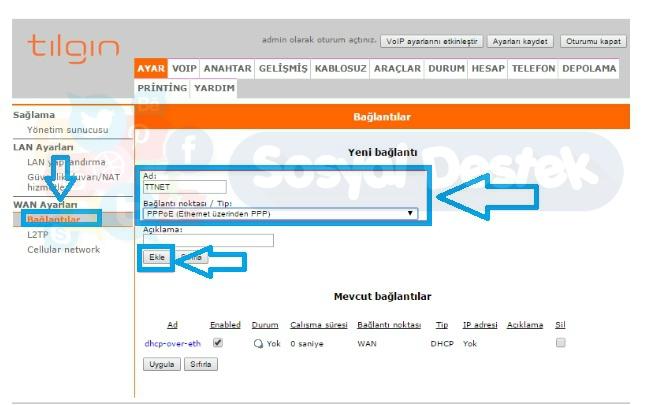 TILGIN HG1332 Modem Kurulumu Resimli Anlatım, TILGIN HG1332 Modem Kurulumu,TILGIN HG1332 modem ayarı,TILGIN HG1332 kopma sorunu, TILGIN HG1332 arayüz şifresi, TILGIN HG1332 Kablosuz Ayarları Nasıl Yapılır