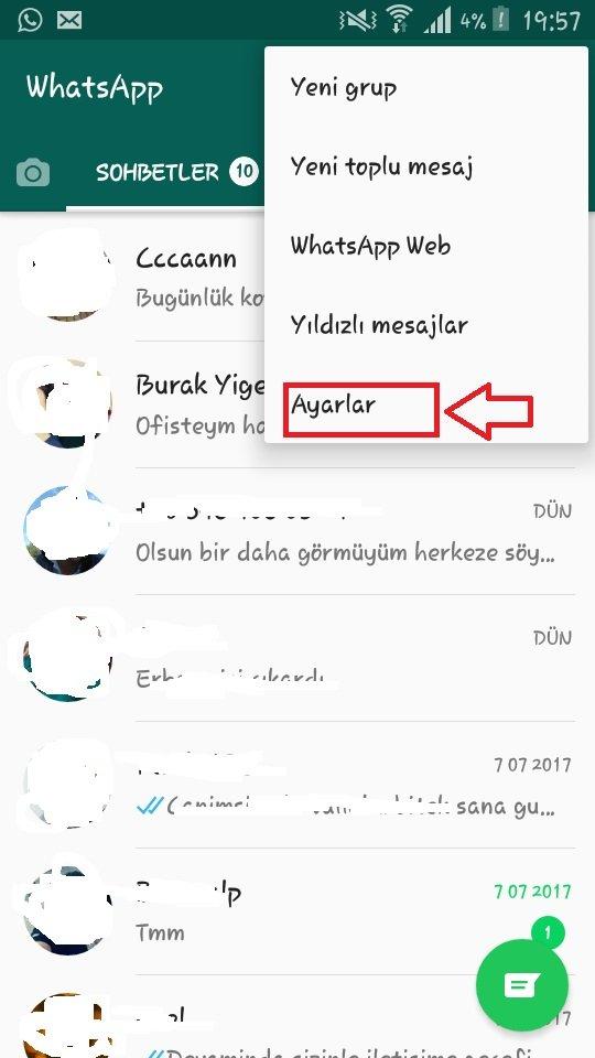 WhatsApp Okundu Bilgisini Kapatma Resimli Anlatım, whatsapp okundu kapatma, whatsapp okundu işareti kaldırma, whatsapp mavi tik kapatma, mesaj okundu bilgisi gelmiyor, whatsapp okundu işareti mavi olmuyor, whatsapp okundu ayarları