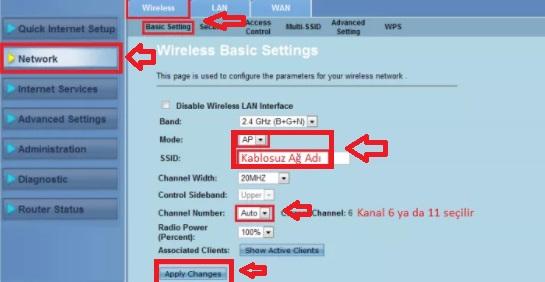 ASUS DSL N10E Modem Kurulumu Resimli Anlatım, asus dsl n10e, asus dsl n10e modem ayarı, asus dsl n10e kanal ayarı, asus dsl n10e kablosuz ayarı, asus dsl n10e kablosuz modem kurulumu