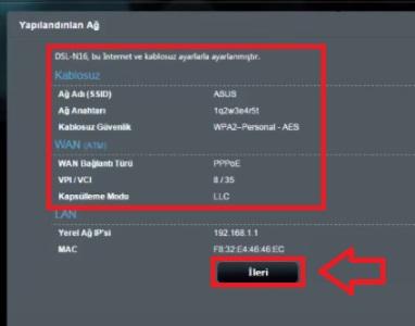 ASUS DSL N16 Modem Kurulumu Resimli Anlatım, asus dsl n16, asus dsl n16 modem ayarı, asus dsl n16 kablosuz ayarı, asus dsl n16 kablosuz modem kurulumu, asus dsl n16 modem kurulumu