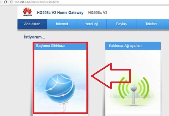 Huawei HG658C V2 Modem Kurulumu Resimli, huawei hg658cv2 modem ayarı, huawei hg658cv2 kablosuz ayarı, huawei modem ayarı, vodafone modem ayarı, hg658cv2 modem kurulumu