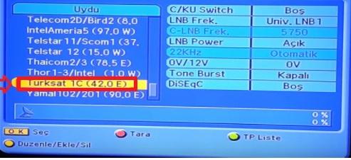 nextstar, next tv frekans ayarları, next tv kanal ayarı, next tv kurulumu, next tv uydu ayarı, next tv uydu kurulumu, Next Nextstar TURKSAT 4A Uydu Kanal Ayarları