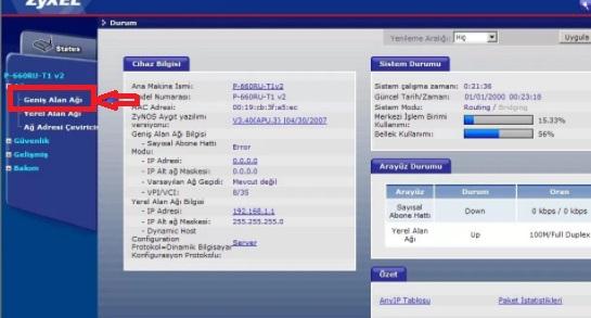 zyxel prestige600 modem ayarı, zyxel prestige600 internet ayarı, zyxel prestige600 modem kurulumu, zyxel prestige600 ip alamama, zyxel prestige600 internete giremiyor
