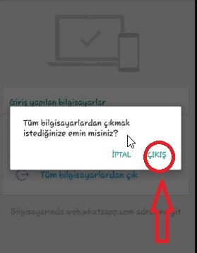 Bilgisayardan Whatsapp Uygulamasından Nasıl Cıkılır Resimli, whatsapp çıkış nasıl yapılır, whatsapp web engelleme, whatsapp web açık olduğunu nasıl anlarız, whatsapp hesaptan çıkış yapma, whatsapp web uygulama kapatma, whatsapp web kapatma