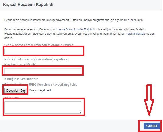 Facebook Kişisel Hesabım Kapatıldı Resimli Anlatım, facebook ile kimliği doğrula, facebook kapatıldı nasıl açabilirim, kişisel hesabım kapatıldı nasıl açabilirim, facebook hesabını geri alma, facebook kapatılan hesabı açma hilesi