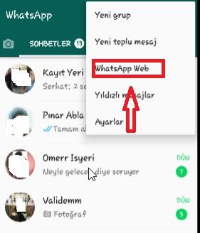 whatsapp görüşmeleri takip edilir mi