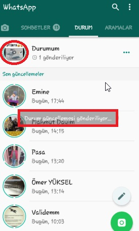 WhatsApp Duruma Video Ekleme Resimli Anlatım, whatsapp duruma müzik ekleme, whatsapp durumuna video koyma, whatsapp durumuna müzik koyma, whatsapp durum şarkı paylaşma,  whatsapp duruma müzik nasıl paylaşılır, whatsapp duruma video paylaşma, whatsapp durum silme