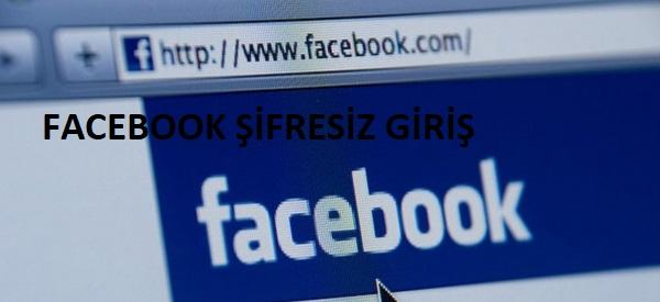 Facebook Hesabına Profil Resmi ile Giriş Yapma