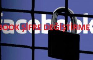 Facebook Sifre Değiştirme Nasıl Yapılır Resimli