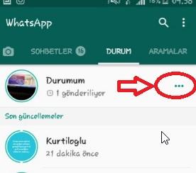 WhatsApp Durumuna Bakanlar Gözükmüyor Sorunu, whatsaap durum sayısını görme, durum sayım gözükmüyor, durumuma bakanlar gözükmüyor, whatsapp durum gizlilik ayarı, durum gizlilik ayarlarını yapma