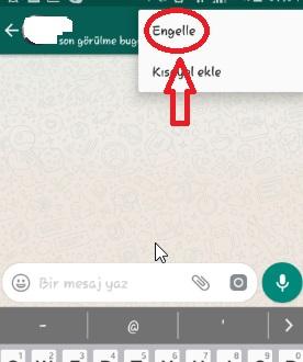 WhatsApp Engelleme Nasıl Yapılır Resimli Anlatım, whatsapp engel yeme, whatsapp engelleme nasıl yapılır, whatsapp engellediğimi nasıl anlarım, whatsapp kişi engelleme samsung, whatsapp kişi engelleyince ne oluyor