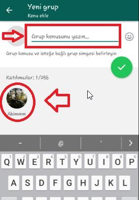 WhatsApp Grup Nasıl Kurulur Resimli Anlatım, grup nasıl kurulur, grup oluşturma, whatsapp grup oluşturma, whatsapp gruba katılma, whatsapp gruba kişi ekleme, gruba kişi ekleme