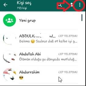WhatsApp Kişiler Gözükmüyor Sorunu Nasıl Giderilir, whatsapp kişiler gözükmüyor, whatsapp kişilerim ayarları, whatsapp isimler gözükmüyor, whatsapp kişiler görünmüyor iphone, whatsapp kişiler görünmüyor android