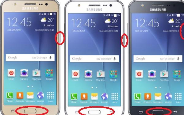 Android Telefonda Ekran Fotosu Alma Cekme