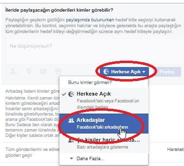 Facebook Paylaşımları Gizleme Nasıl Yapılır, paylaşımlarım gözükmesin, paylaştıklarımı herkes görmesin, facebook paylaşımları gizleme, facebook paylaşımım görünmesin, paylaşımı gizleme