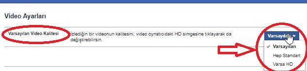 Facebook Video Kalitesi Ayarları Yapma, facebook video ayarı, faceobok video yükleme boyutu, facebook hd yükleme, facebook hd video izleme, hd video izleme, video ayarları
