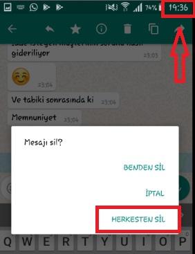 WhatsApp Mesajımı Geri Alamıyorum Sorunu, whatsapp mesajı iptal edemiyorum, whatsapp mesajı silemiyorum, whatsapp herkesten sil gelmiyor, whatsapp mesajı geri çekemiyorum, mesajı geri çekemiyorum, whatsapp gönderilen mesajı geri alamıyorum
