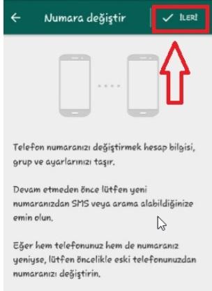 Whatsappta numara değiştirince mesajlar silinir mi