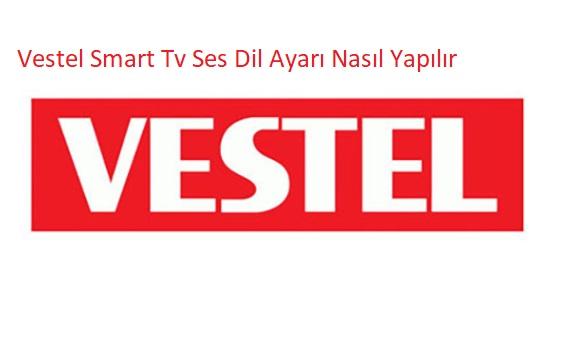 Vestel Smart Tv Ses Dil Ayarı Nasıl Yapılır