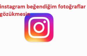 instagram beğendiğim fotoğraflar gözükmesin