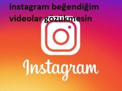 instagram beğendiğim videolar gözükmesin
