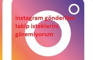 instagram gönderilen takip isteklerini göremiyorum 1