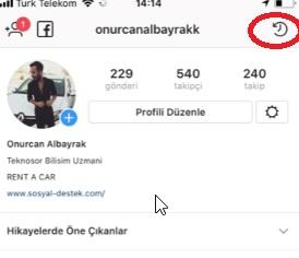 instagram hikayemdeki video ve resimleri arşivleyemiyorum, resim arşivleme, video arşivleme, instagram arşiv nerede, instagram arşivi bulamıyorum, instagram arşivleme yok