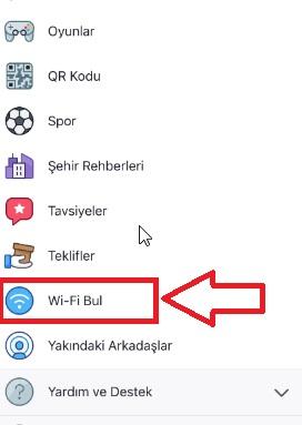 Facebook ücretsiz wifi bulamıyorum nerede, wifi bul facebook, bedava wifi bağlanma, bedava internet kullanma, facebook wifi bul nerede, facebook ücretsiz wifi