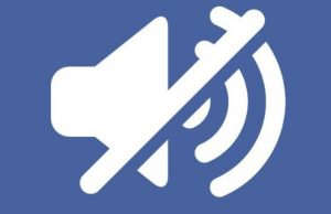Facebook video görüntü var ses gelmiyor