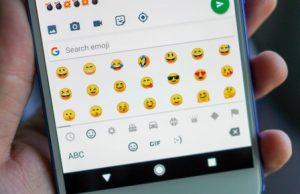 Android telefonuma emoji ekleyemiyorum