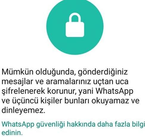 WhatsApp sifreli mesaj gönderemiyorum, şifreli mesaj gönderemiyorum, whatsapp şifreli mesaj atma, whatsapp şifreli mesaj yollama, whatsapp güvenli mesaj gönderme, whatsapp uçtan uca şifreleme, whatsapp güvenlik kodu