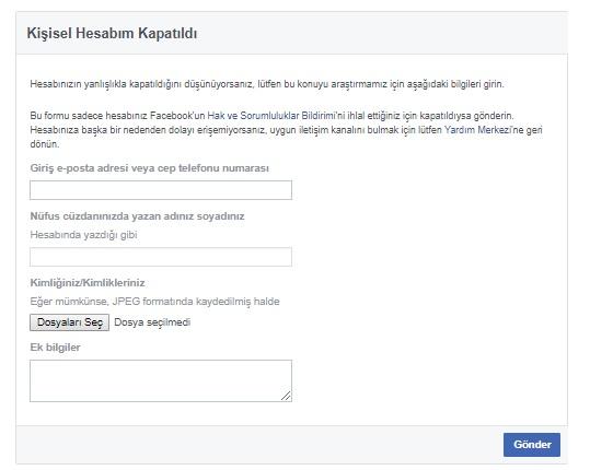 Facebook hesabım kendi kendine kapanıyor, facebook kapanıyor, facebook açınca kapanıyor, facebook açar açmaz kapanıyor, facebok hesabı hemen kapanıyor, facebook hesaplarım sürekli kapanıyor