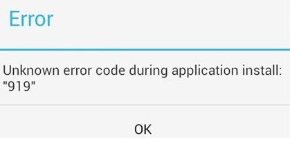 Google play store 919 hatası nedir nasıl giderilir, 919 hatası nedir, 919 hatası nasıl giderilir, google play 919 hata kodu, play store 919 hata kodu, google play store 919 hatasının çözümü