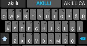 Android kelime düzeltmeyi açamıyorum