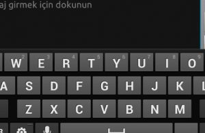 Android kelime düzeltmeyi kapatamıyorum