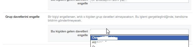 Facebook grup davetlerini engelleyemiyorum, grup davetini engelleme, davetleri engelleme, facebook grup daveti engelleme, facebook grup bildirimi gelmesin, facebook grup daveti gelmesin