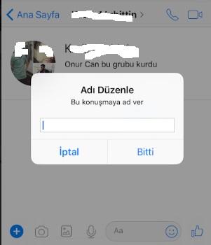 Facebook messenger gruba isim veremiyorum, messenger gruba isim verme, messenger gruba ad verme, messenger grup ismini değiştirme, gruba isim verme, facebook gruba isim verme