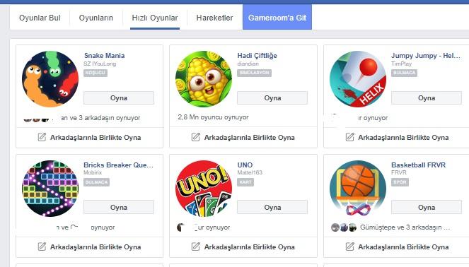 Facebook oyunlar gözükmüyor bulamıyorum, oynayacak oyun bulamıyorum, oyunlar nerede, facebook oyunlar nerede, facebook oyunlar çıkmıyor, facebook oyunlar çalışmıyor