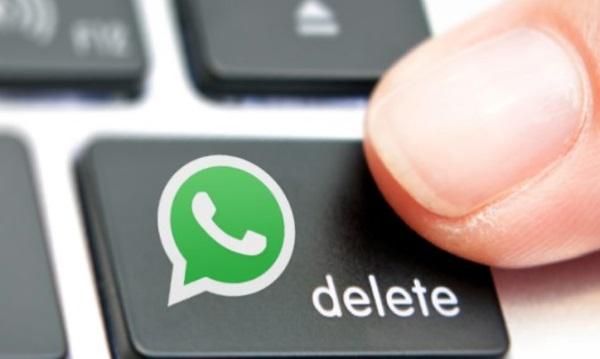 WhatsApp grup konuşmasını silemiyorum