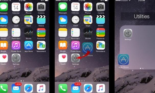 iphone klasör açamıyorum oluşturamıyorum