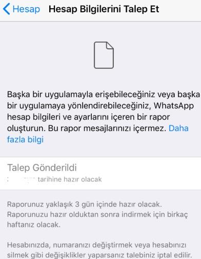 WhatsApp hesap bilgilerini talep edemiyorum, whatsapp bilgi talep etme, hesap bilgileri talep etme nedir, bilgileri talep etme ne işe yarar, hesap talep etme, whatsapp hesap bilgilerini talep etme
