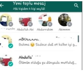 Whatsapp toplu mesaj listesi düzenleme, whatsapp alıcı ekleme, listeye alıcı ekleme, whatsapp liste düzenleme, whatsapp mesaj listesi düzenleme, whatsapp toplu mesaja kişi ekleme