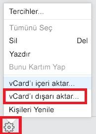 iCloud vcard dışa aktarmıyor çalışmıyor, vcard dışa aktarmıyor, vcard okunurken hata oluştu, vcard dışa aktar çalışmıyor, icloud vcard dışa aktarma, vcard dışa aktarılmıyor
