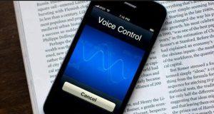 iphone mesaj yazarken sesli okuyor